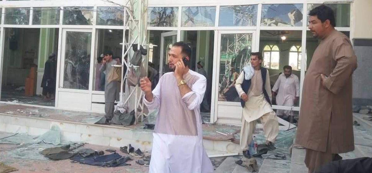 अफगानिस्तानको मस्जिदमा विस्फोट : ३० जनाको मृत्यु