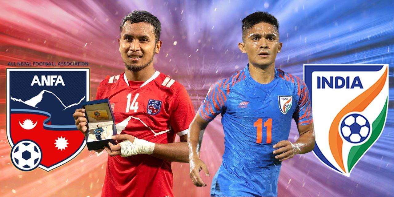 साफ च्याम्पियनसिप फाइनल : नेपाल र भारतबीच प्रतिष्पर्धा हुँदै